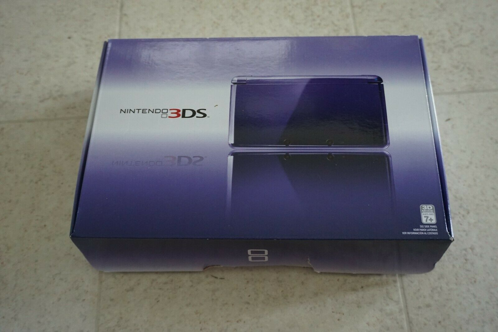 Nintendo 3DS Midnight Purple Portable Gaming Console, Complete in Box on eBay thumbnail