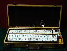 Vintage 152 Piece Bakalite Mahjong Set With Case 4 Player Game
