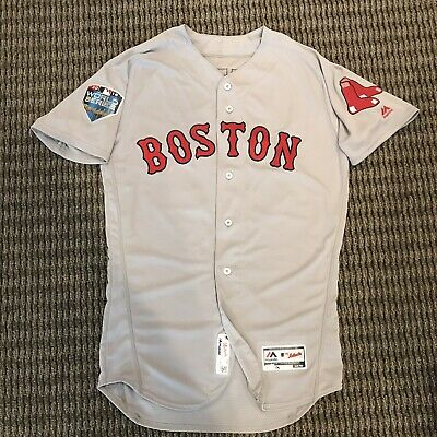 official photos 2c0b0 bc2c2 Mookie Betts Boston Red Sox Team Issued World Series Jersey 2018 MLB Auth |  eBay