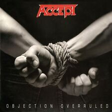 Objection Overruled by Accept (CD, Apr-2015, Hear No Evil (Cherry Red Label))