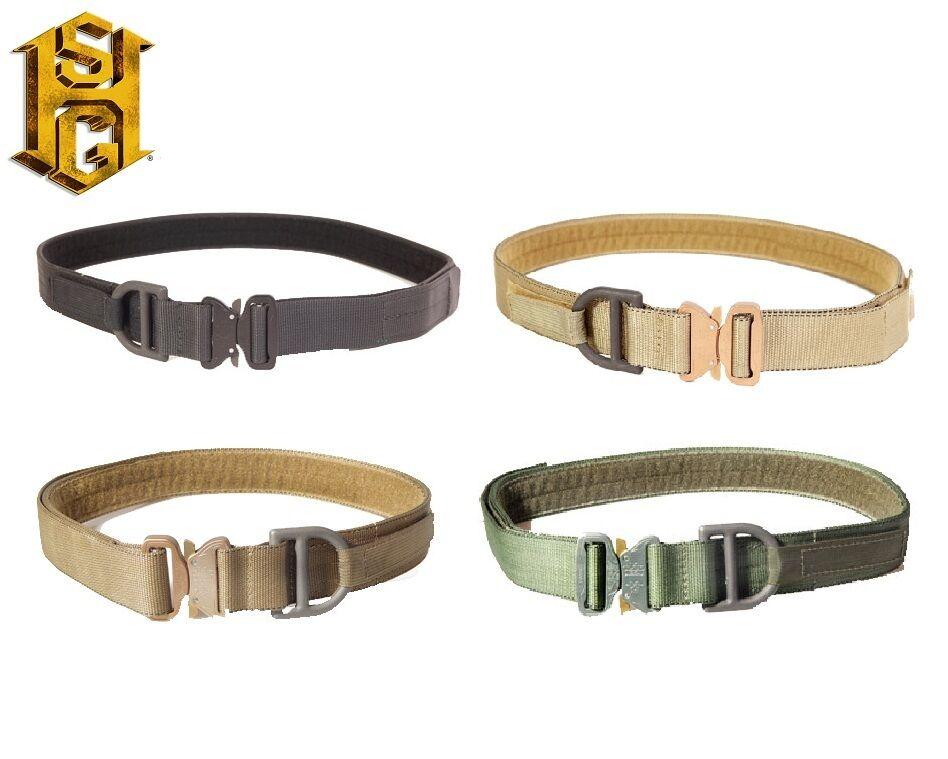 HSGI 1.75 en (approx. 4.44 cm) Cobra Aparejadores Cinturón (Loop Forrado) - 31CV0-Multicam-Coyote-Diámetro exterior-Negro