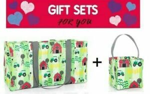 Thirty one Littles carry-all Caddy utility mini tote bag 31 gift in Farm Fun new