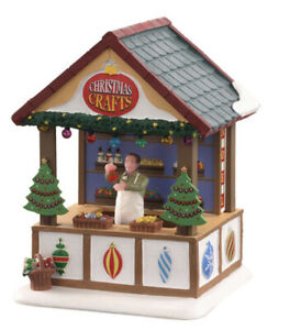 NEW Lemax Market Village Shoppe Hand Crafted Ornaments Lighted Village Building