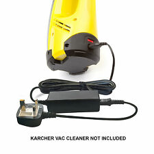 Window Cleaner Vac Vacuum Battery Charger Power Lead Supply for Karcher WV70
