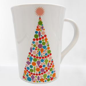 Room-Creative-BRIGHT-TREE-Christmas-Mug-Tall-Cup-2013-Signature-Housewares