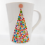 Room-Creative-BRIGHT-TREE-Christmas-Mug-Tall-Cup-2013-Signature-Housewares thumbnail 1