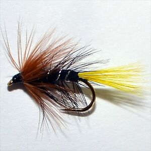 Kate mclaren trout grayling wet fly fishing flies by for Wet fly fishing