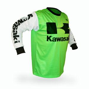 Kawasaki Motocross Gloves