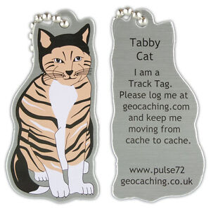 Tabby-cat-track-tag-pour-geocache-travel-bug-geocoin