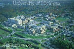 University Of Michigan Medical Center >> Details About Aerial View Of University Of Michigan Medical Center Ann Arbor Mi Postcard