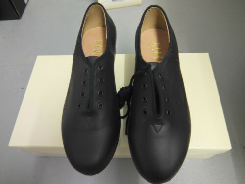 Black Bloch jazz tap shoes with heel and toe taps   S0301