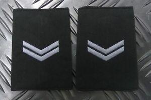 Genuine-British-Royal-Marines-Issue-CORPORAL-Rank-Slides-Epaulettes-APOR06