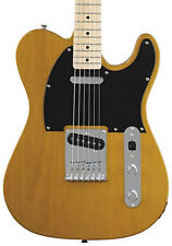 Fender Squier Affinity Telecaster Electric Guitar, Butterscotch Blonde (NEW)