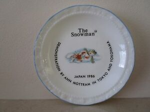 Royal Doulton Snowman dish Extremely rare promotional event item - <span itemprop='availableAtOrFrom'>Stoke-on-Trent, United Kingdom</span> - Royal Doulton Snowman dish Extremely rare promotional event item - Stoke-on-Trent, United Kingdom