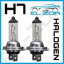 H7 HALOGEN 55W BULBS 12V DIPPED BEAM HEADLIGHT HEADLAMP CLEAR LIGHT LAMP 499 X 2