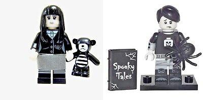 16 Boy Emo Vampire Goth Punk Halloween LEGO SEALED Series 12 Lego Spooky Girl