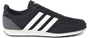 adidas-V-RACER-2-0-Men-039-s-Shoes-Lightweight-Athletic-Trainers-Black-BC0106