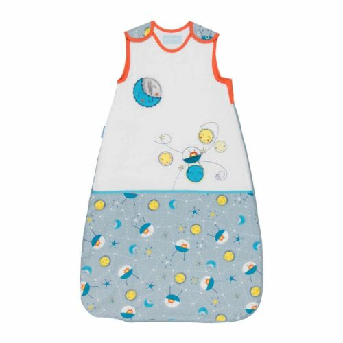 The Gro Company 0-6m 1.0 Tog To The Moon Baby Grobag Sleeping Bag Sack