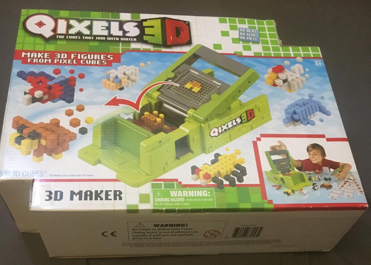 New Qixels 3d Figures Maker 600 Cubes Roblox Minecraft Toy Craft