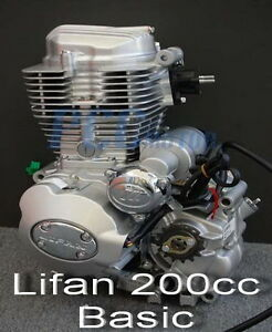 Lifan 200cc 5 Speed Engine Motor Motorcycle Dirt Bike Atv I En25