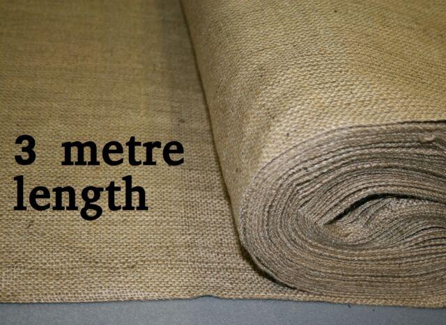 18oz Natural Hessian Fabric 1.8m wide x 3 metre length