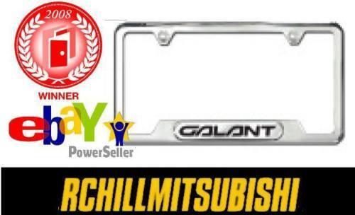 2004-2012 2010 2011  GENUINE MITSUBISHI GALANT LICENSE PLATE TAG FRAME MZ314184
