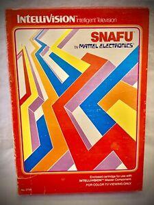 SNAFU - Vintage 1981 Mattel Intellivision Video Game