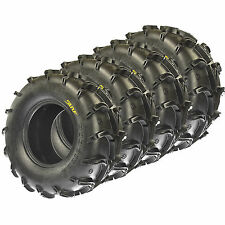 Set of 4 SunF 28x10-12 & 28x12-12 ATV UTV Mud Tires 6 Ply A050