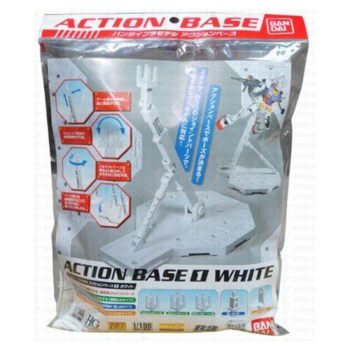 HG RG MG 1//144 1//100 Gundam Action Base 1 WHITE Stand Model Kit Bandai SALE