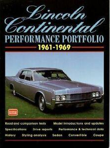 Lincoln-Continental-Test-Articles-1961-62-63-64-65-66-67-68-69-Book-Portfolio