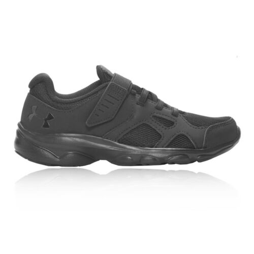 Under Armour Junior Pace GS Chaussures De Course Baskets Sneakers Noir