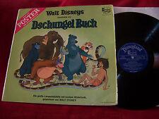 Dschungel Buch    Disneyland LP   mit Buch
