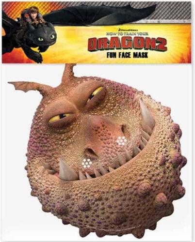 Comment former votre dragon 2-Officiel Licencié carte visage masques 6 à choisir