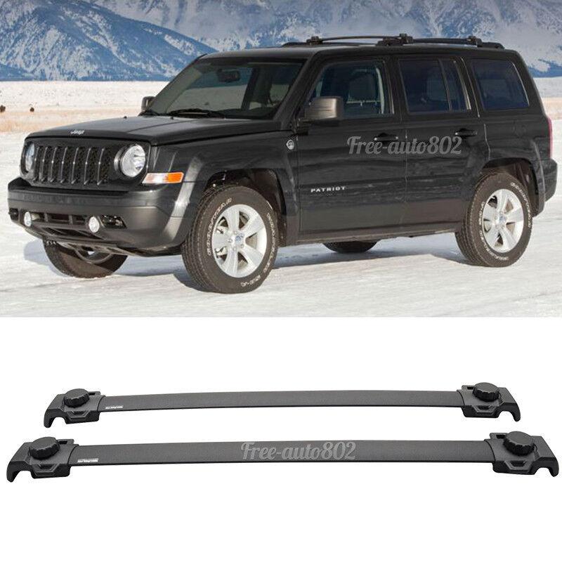 fit for 07 15 jeep patriot oe style black roof rack cross. Black Bedroom Furniture Sets. Home Design Ideas