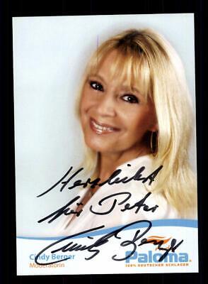 Autogramme & Autographen Cindy Berger Autogrammkarte Original Signiert ## Bc 147137 Neueste Technik