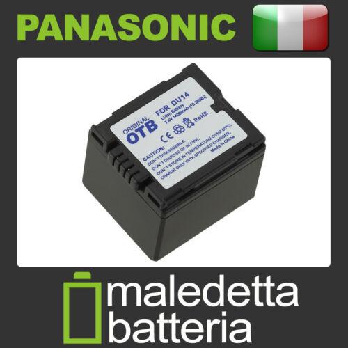 Batteria Alta Qualità per Panasonic NV-GS10EG-R