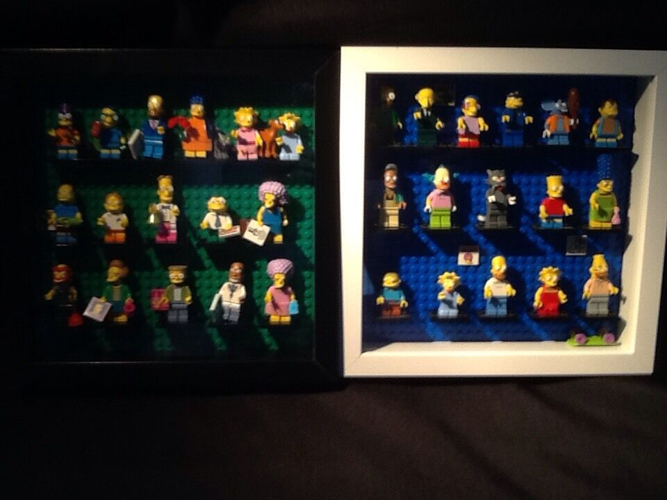 LEGO Minifigures Simpsons 1 And 2 Both In Cases