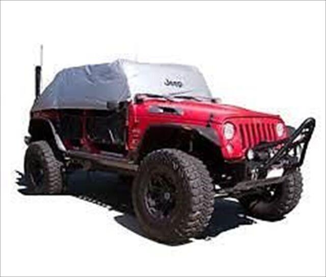 07 18 Jeep Wrangler JK Unlimited 4 Door SILVER CAB COVER HEAT REFLECTIVE  MOPAR