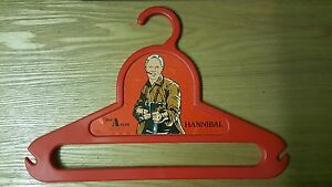 VINTAGE-1983-The-A-TEAM-COAT-HANGER-RARE-HANNIBAL