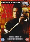 Today You Die With Steven Seagal DVD Region 2 5035822020535