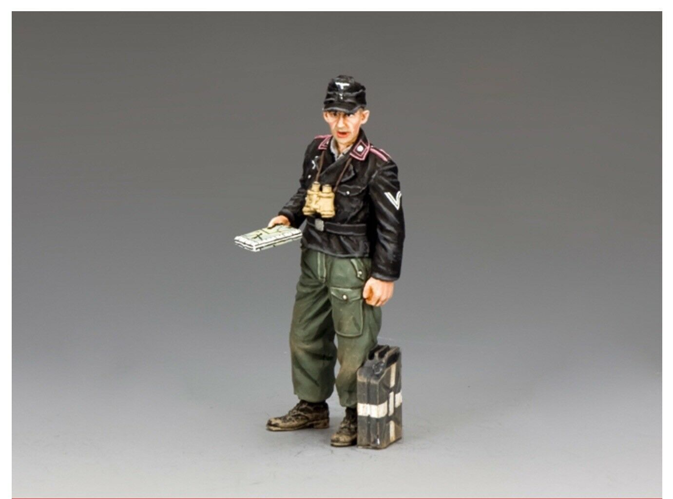 WH068 WW2 German Panzer Tank Commander Mint in Box WH68