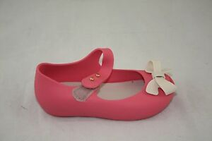 NEW TODDLER 31465 MINI MELISSA BALLET SP BB 06207 CLEAR GREEN FLAT JELLY SHOE