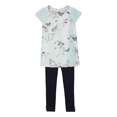 TED BAKER GIRLS FLORAL PRINT LEGGINGS BRAND NEW WITH TAGS AGE 5-6 YEARS
