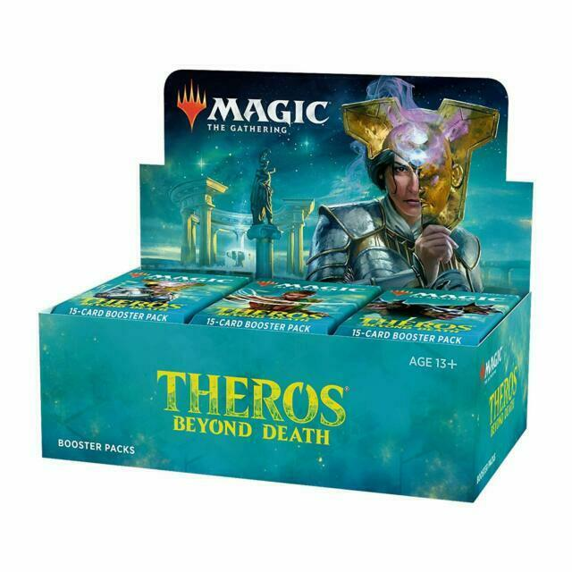 Wizards Of The Coast 1sz4aa0t Magic Theros Beyond Death Booster For Sale Online Ebay
