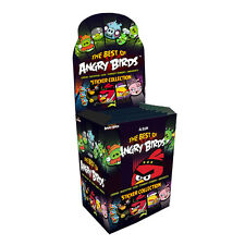 Angry Birds Sticker Album Collection - 20 Packs: The Best Of Angry Bird Stickers