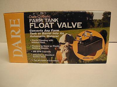 Farm Tank Float Valve Dare-O-Matic Dare 798 300 GPH Plastic Housed