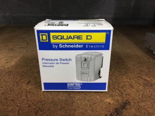 Square D Pumptrol Pressure Switch NIB 9013FSG42S107J99