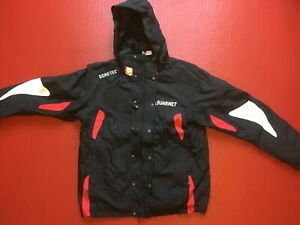 Details about Used Vuarnet Black Gore TEX Jacket Equipe de France Ski Size L 52 Not Colmar