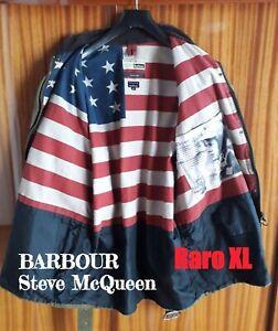 BARBOUR-INTERNATIONAL-Rexton-Steve-McQueen-giacca-giubbotto-cerato-44-034-XL
