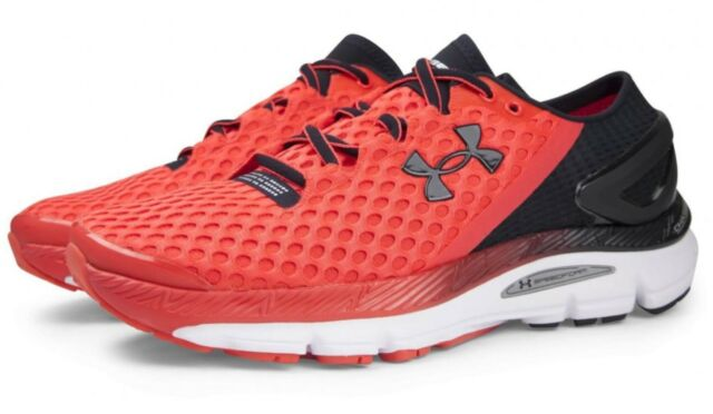 UNDER ARMOUR UA SPEEDFORM GEMINI 2 MEN S RUNNING SNEAKER BLACK RED RARE HTF e857d17f7f85